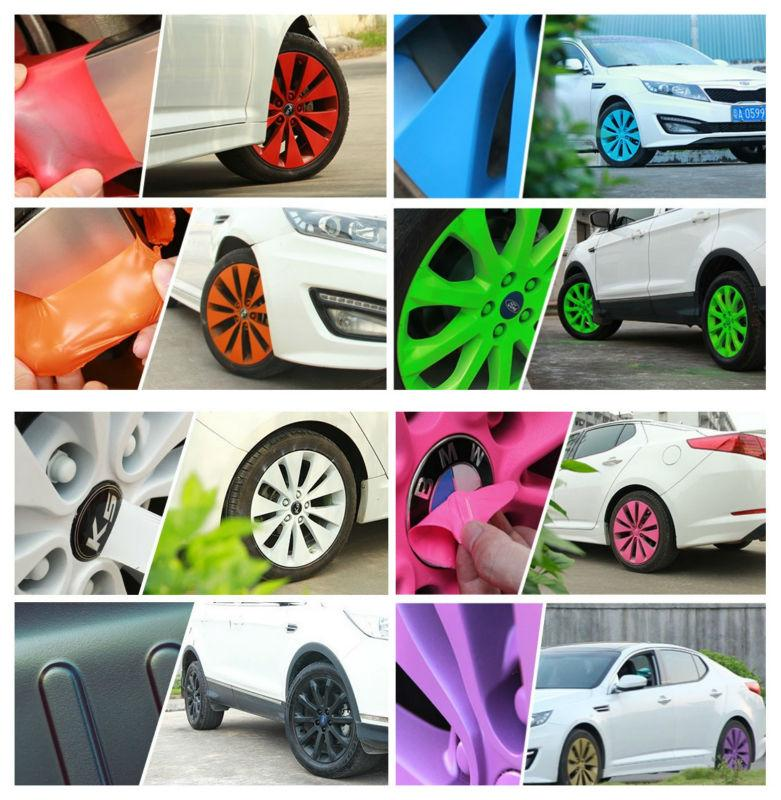 clear stock colorcon plasti dip car rim silicon rubber spray paint. Black Bedroom Furniture Sets. Home Design Ideas