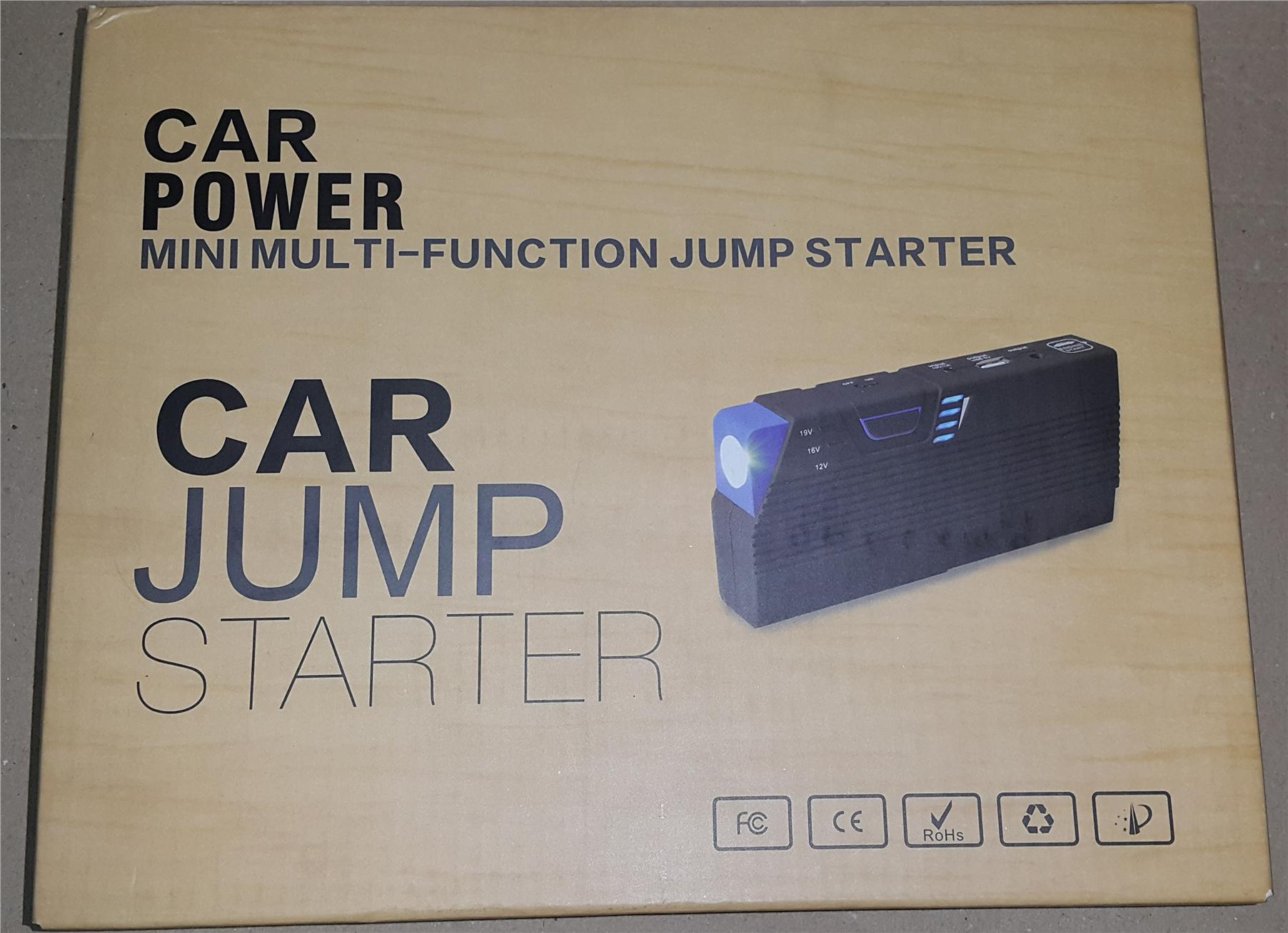 CLEAR STOCK PRICE Car jump start(USA) style powerbank 13600mah