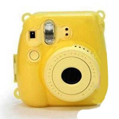 Clear Yellow Hard Shell Protective Cover Case for Fujifilm Instax