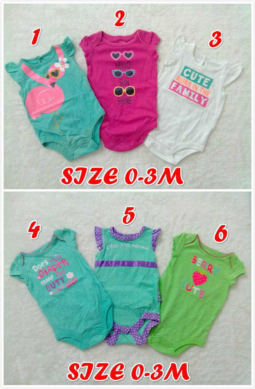 Clearance!! Baby Girl Romper