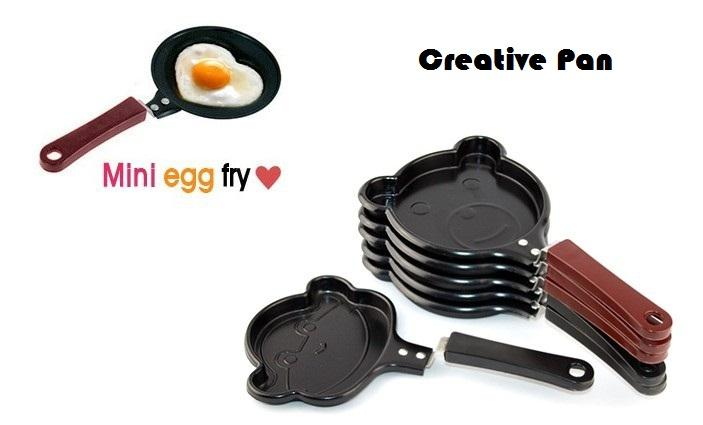 [CLEARANCE]Lovely cartoon Mini Egg Frying Pan