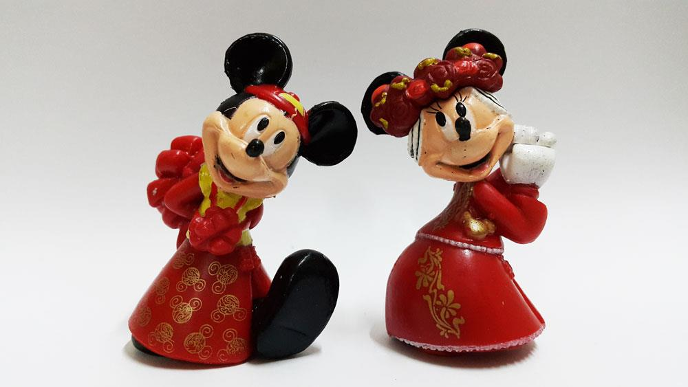 CLEARANCE Mickey Mouse Wedding Figure East / gift present (1 pair)