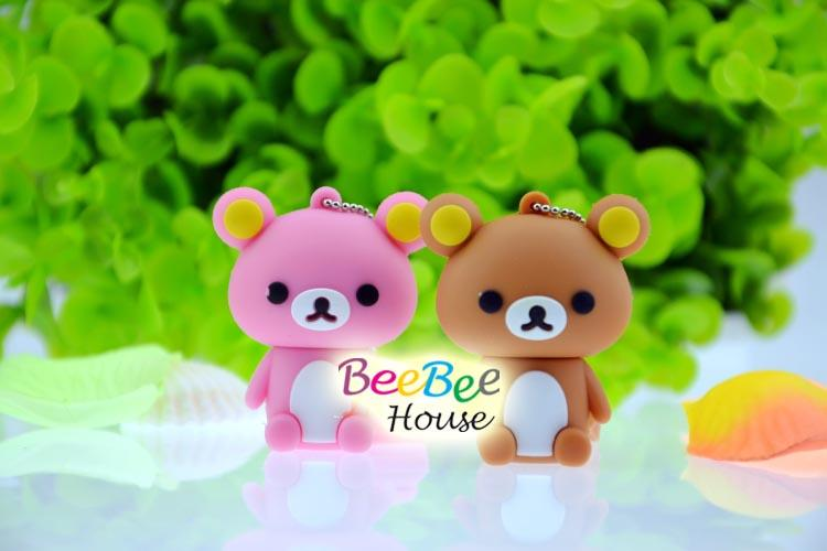 CLEARANCE SALES!! CARTOON THUMBDRIVE (BEAR) 8GB WITH GIFT BOX
