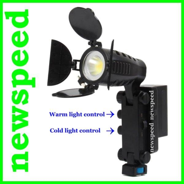 Clearance Warm Cold Adjustable Video Light 5008 for DSLR Camcorder