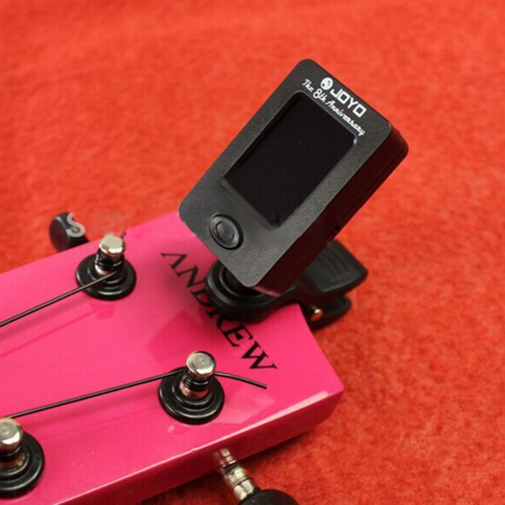Clip On Chromatic Tuner Guitar Bass Banjo Ukulele Violin OUD Tuner JT-..