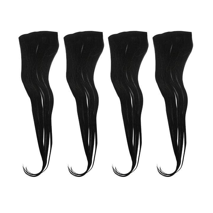 Clip On Hair Extensions - Real Human Hair 4 Pieces