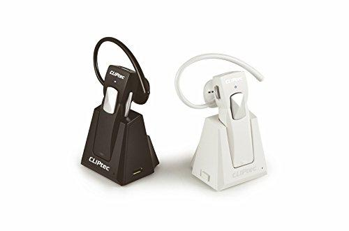 CLIPTEC AIR DAILY BLUETOOTH 3.0 EARSET WITH DOCKING (PBH220) BLK/WHT