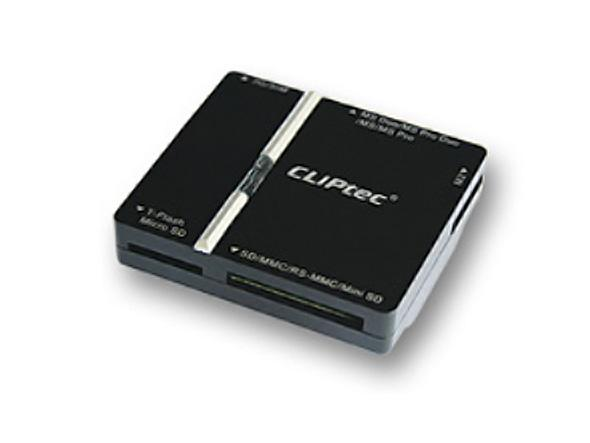CLIPTEC CARD READER ALL IN 1 WITH 4-SLOTS USB2.0 (RZR622)
