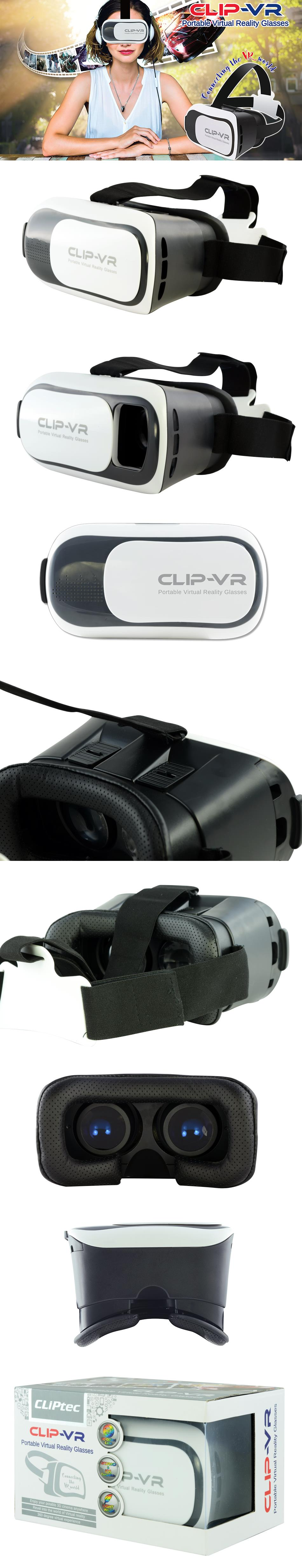 CLiPtec CLIP_VR Portable Virtual Reality VR HD Optical Glasses PVR200