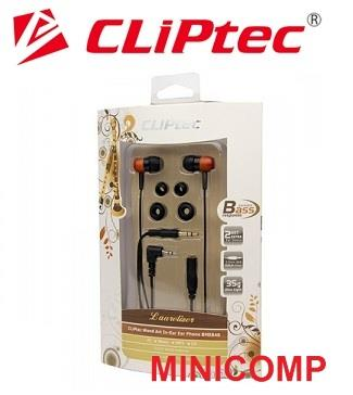 CLiPtec Laurelizer Wood Art In Ear Earphone BME 848