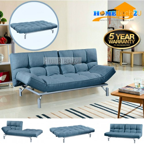 Clo creative modern 3 seater fabric end 3 14 2019 5 27 pm for Sofa bed penang