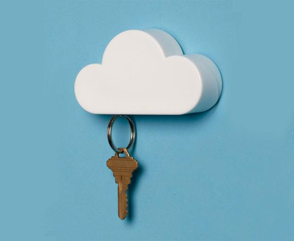 Cloud Magnet Key Holder Key Hanging on Wall