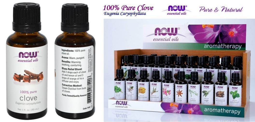 Clove Essential Oils, 100% Pure, Made in USA (30ml)