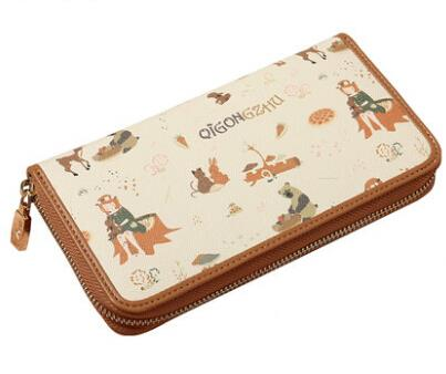 Clutch cartoon wallet card thin package