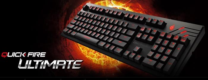 CM Storm Quick Fire Ultimate Mechanical Gaming Keyboard (MX Blue)