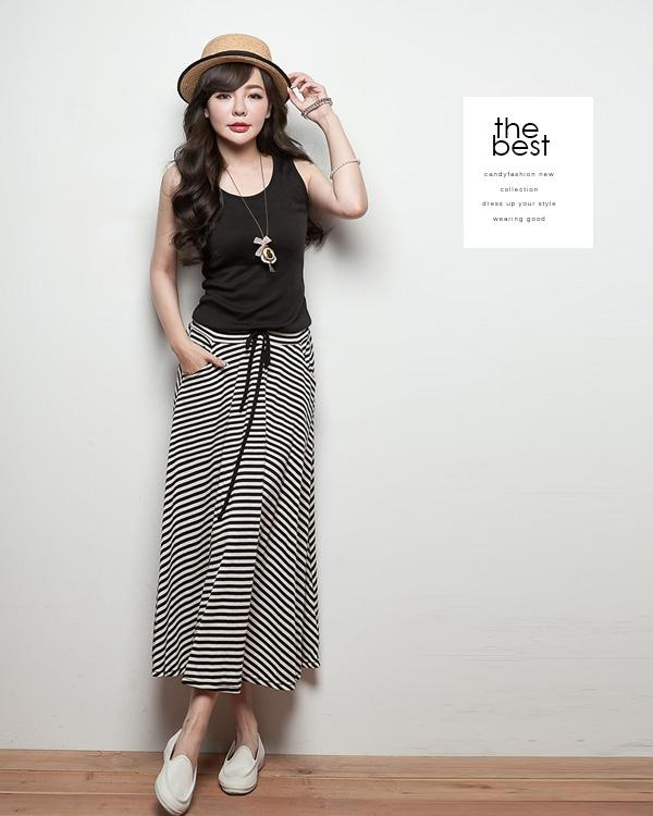 [CM5364] Fashion Woman Casual Wear Long Dress As Picture