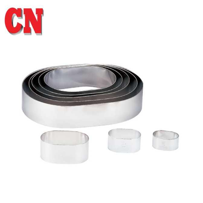 "CN 6"" S.STEEL OVAL RING"