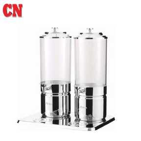 CN JUICE DISPENSER W/ S.STEEL LEG-DOUBLE