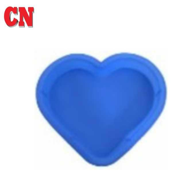 CN SILICONE MOULD HEART PAN