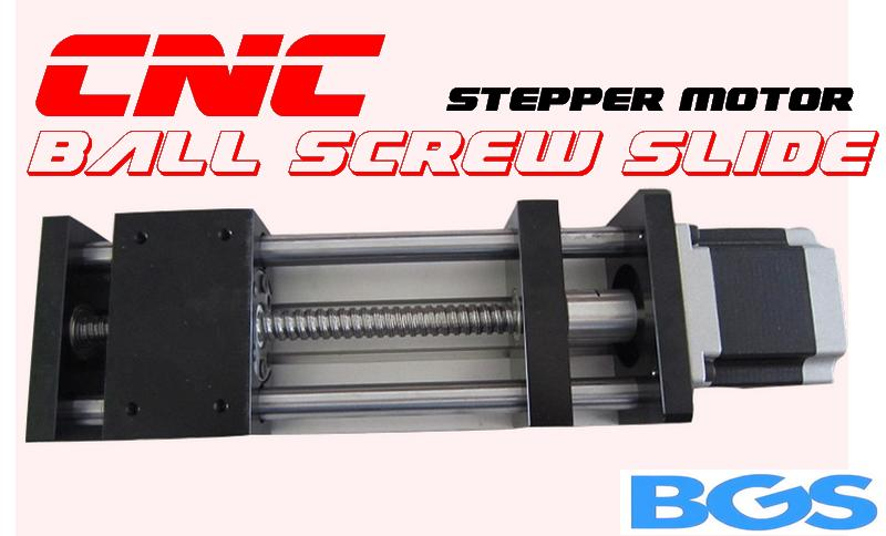 CNC ~ 100/200/300mm  Ball Screw Slide Rail C/W 57 3A Stepper Motor