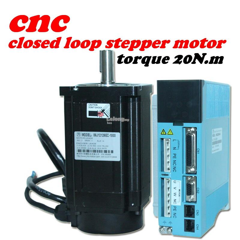 CNC 20NM 110 closed loop servo motor With Controller 3HSS2208H