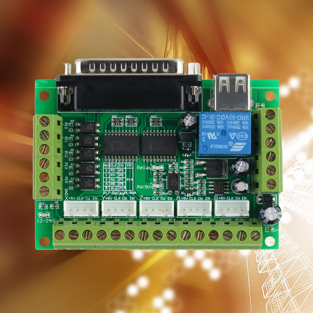 Cnc 5 Axis Interface Breakout Board End 12 2 2017 5 26 Pm