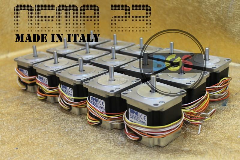 CNC NEMA 23 57 Stepper Motor 3A /1.8 Angle/1.2 N.m ~ Made In Italy