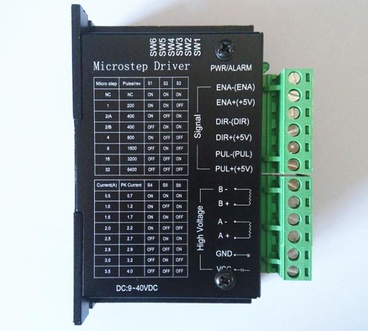 CNC -  TB6600 2/4 Phase Hybrid Stepper Motor Driver Controller