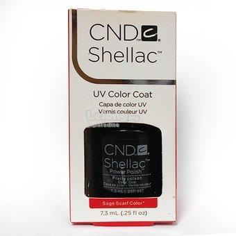 CNDC Shellac UV Color Coat - Sage Scarf Color