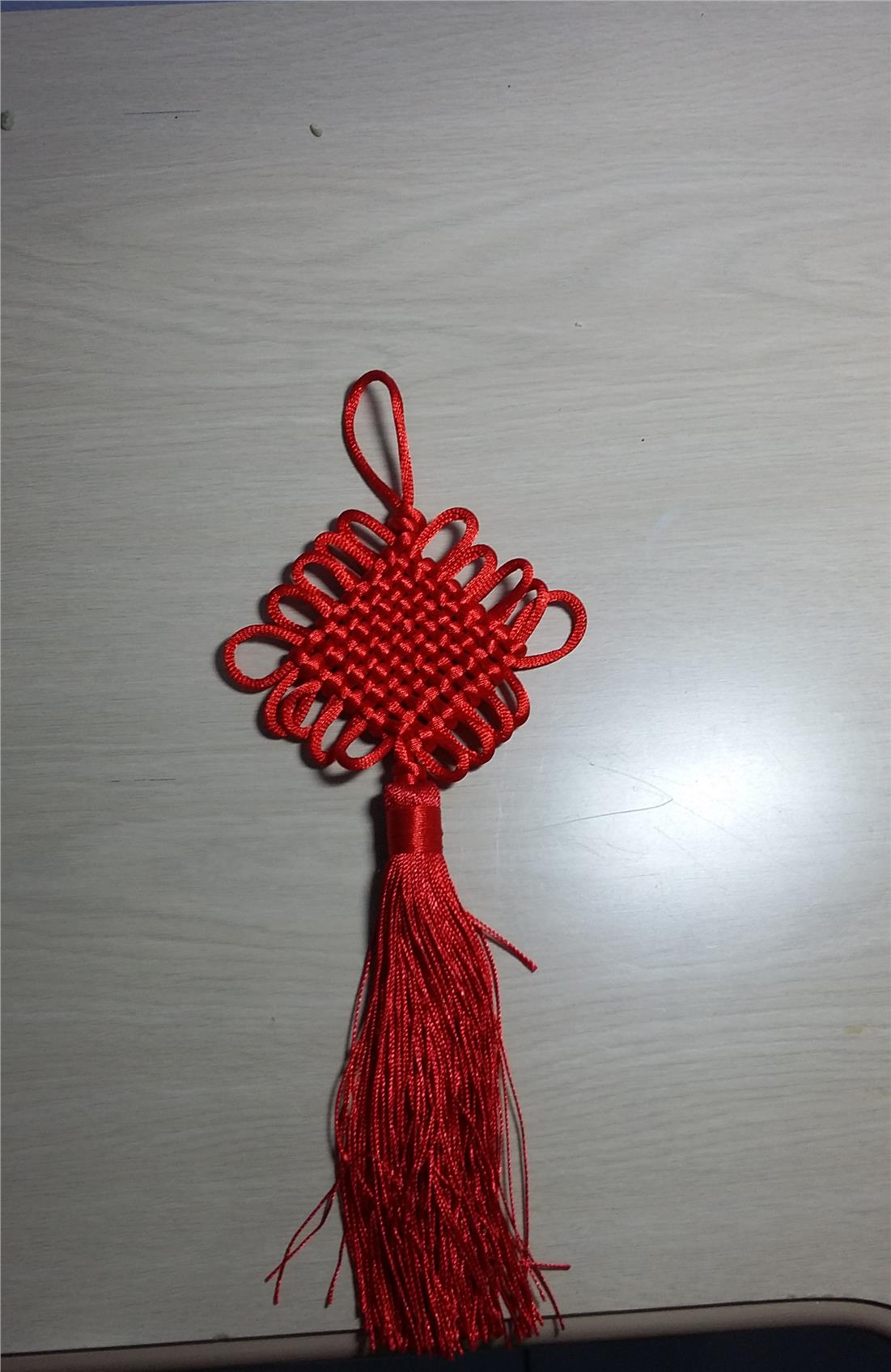 CNY Decoration - Red 2 Pieces Set