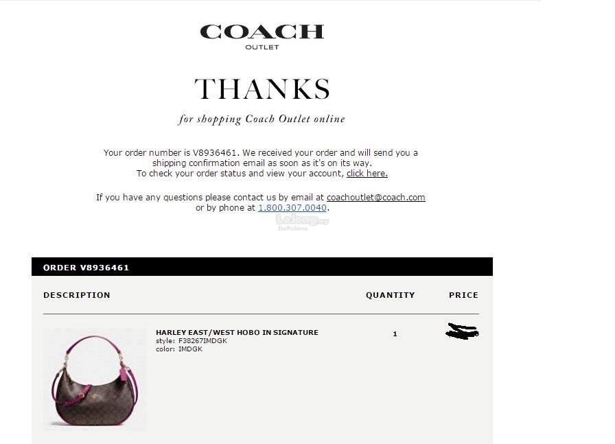 New Coach F38267 Harley East West Hobo In Signature Brown/Fuchsia