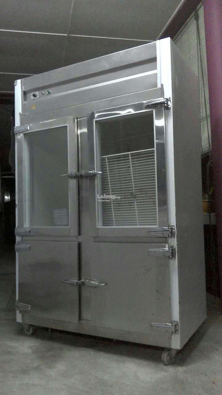 Used coffee shop two-doors refrigerator (Sibu)