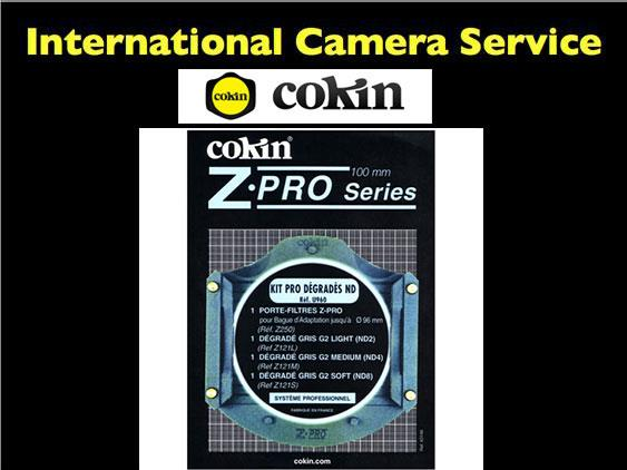 Cokin U960 Z' PRO ND GRAD KIT - 'Z' FILTER HOLDER + Z121L + Z121M + Z1