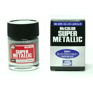 Mr Color Super Metallic -Super Fine Silver - SM01