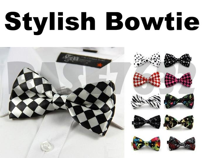 Colorful  Stylish Men Man Bowtie Necktie Neckwear Bow Tie 1652.1