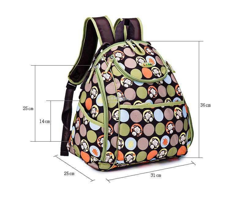 Colorland Mary Petite Baby Changing Backpack - Type B