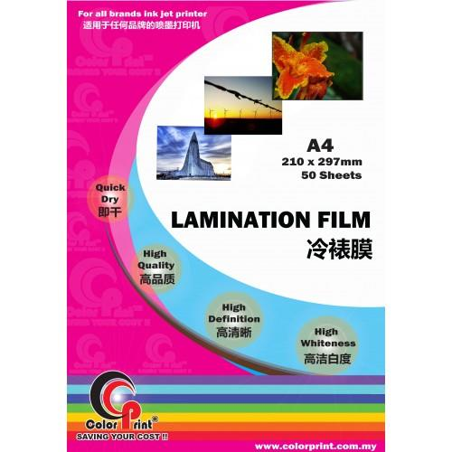 ColorPrint A4 Laminating Film