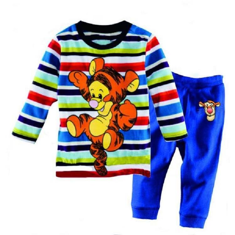 Colourful Disney Tigger Kids Pyjamas/ sleeping wear