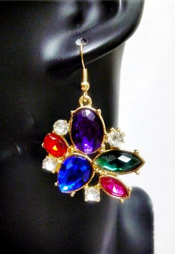 Colourful Earrings  (Free Shipping)
