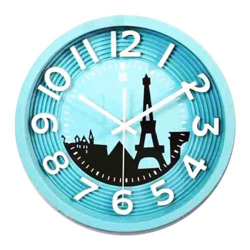 Colourful Illustration Clock US-102
