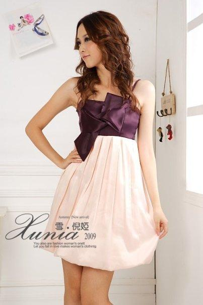*Comax Store*Pretty Charming Bow Tube Dress [359255]