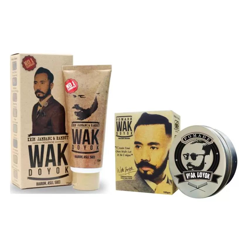 Combo Package Pomade & Beard Cream Wak Doyok