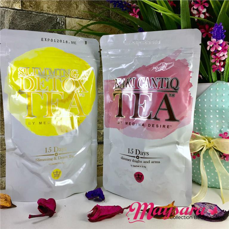 COMBO Set SLIMMING & DETOX Tea + KA (end 8/18/2018 11:22 AM)