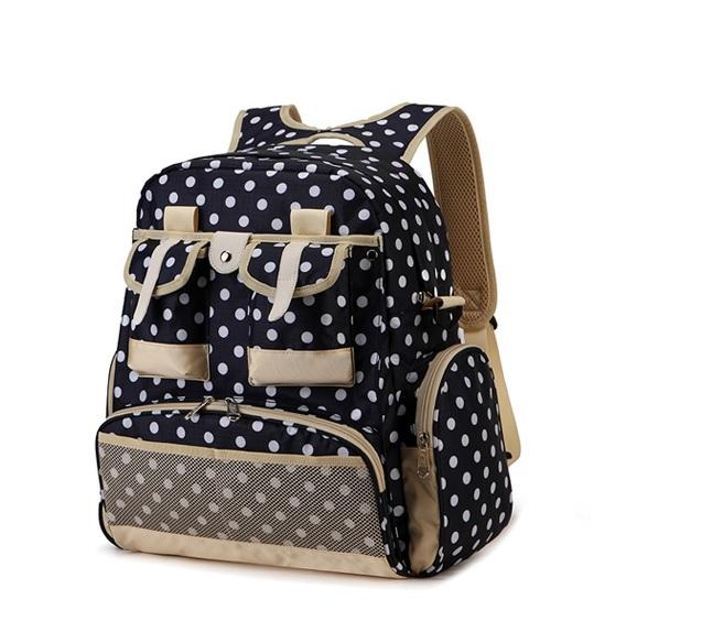 Comer British Style Diaper Bag - Blue