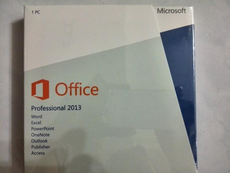 Commercial Microsoft Office 2013 Home & AND Business Retail Box W COA