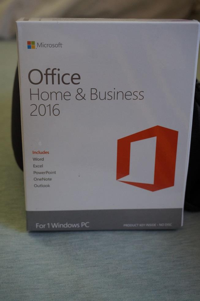 Commercial Microsoft Office 2016 Home & AND Busine (end 4 ...