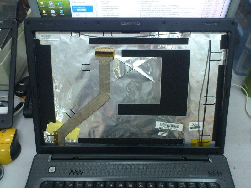 Compaq F500 Notebook LCD Cover 260912