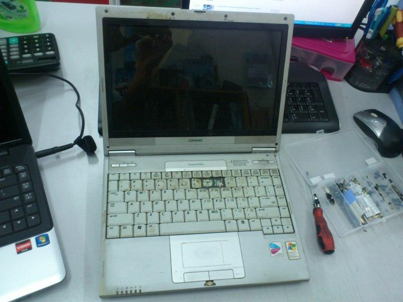 Compaq Presario B1800 Notebook Spare Parts 120913