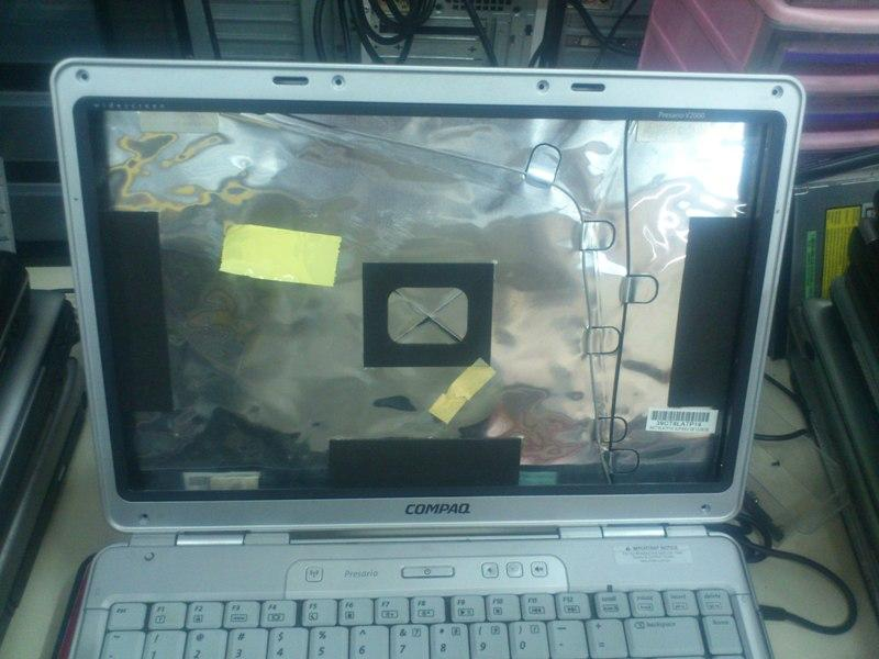 Compaq Presario V2000 NB LCD Cover n Parts 211212