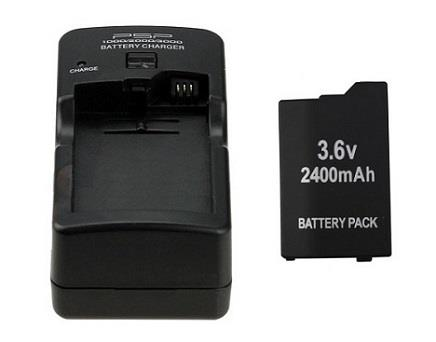 Complete Charging Kit with PSP Battery Charger + 1